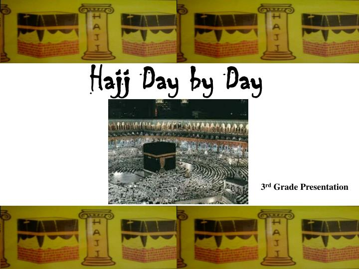 hajj day by day n.
