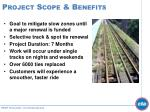 project scope benefits
