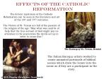 effects of the catholic reformation