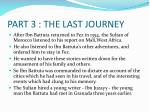 part 3 the last journey