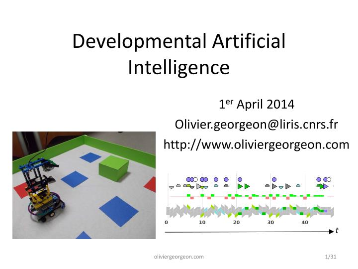 developmental artificial intelligence n.