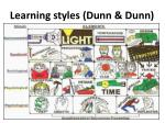 learning styles dunn dunn
