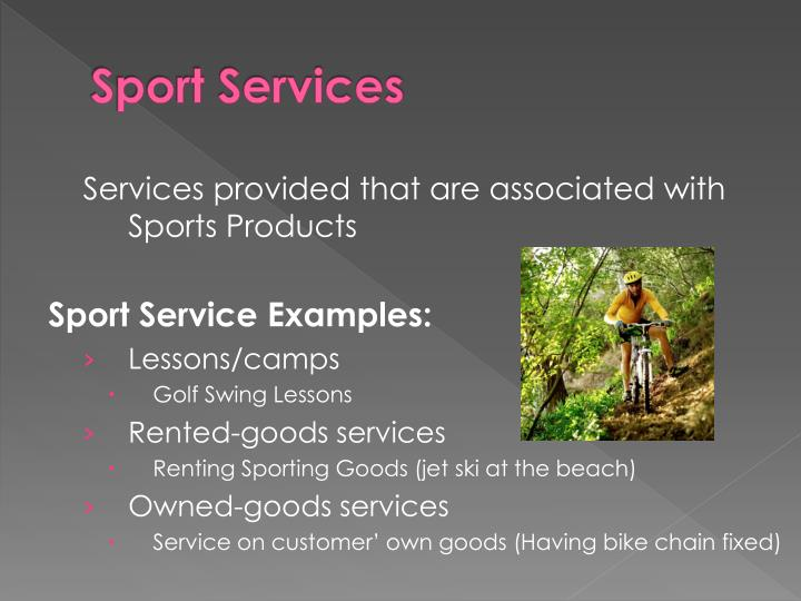 Sport Services