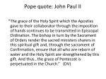pope quote john paul ii