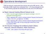 operational development