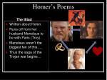 homer s poems