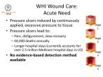 whi wound care acute need