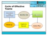 cycle of effective teams4