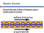 electric current1
