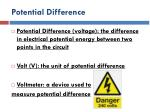 potential difference3