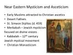 near eastern mysticism and asceticism