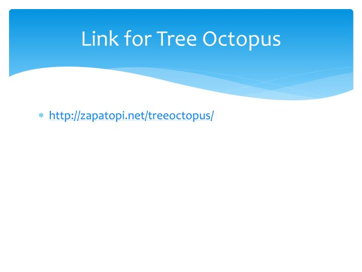 Link for Tree Octopus
