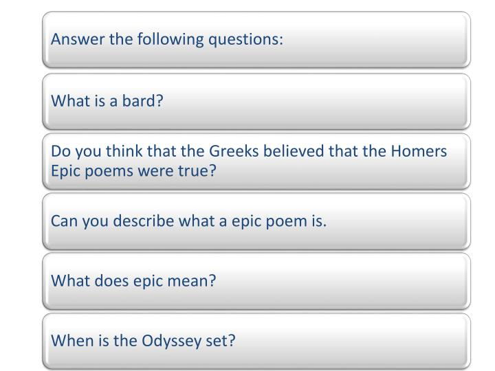 the development of telemachus in the odyssey an epic poem by homer This lecture provides a rough outline of the exploits of odysseus in homer's epic poem ''the odyssey'' you'll learn plot details about this epic.