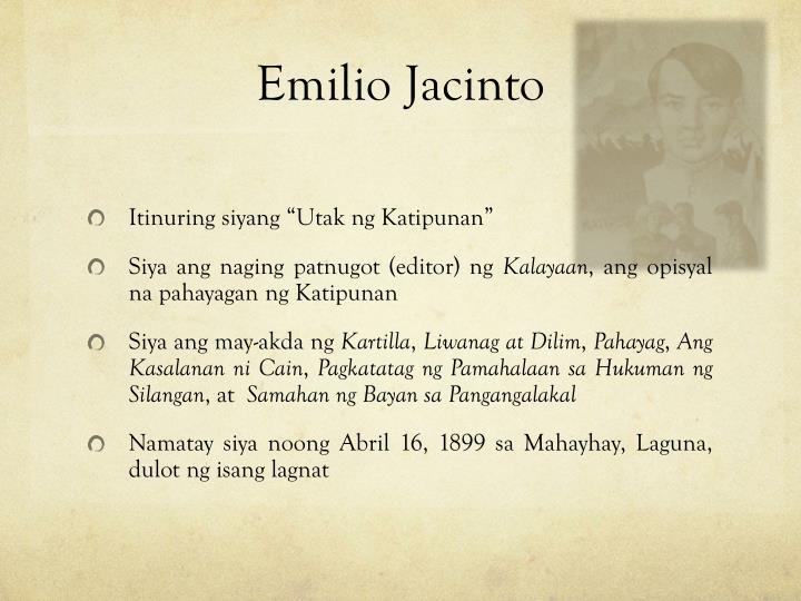 kartilya ni emilio jacinto