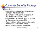 customer benefits package1