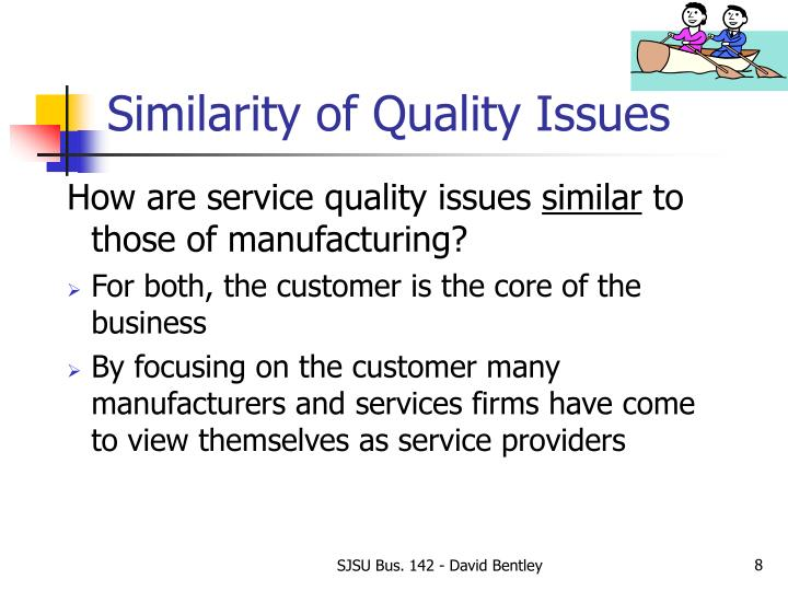 Similarity of Quality Issues