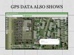 gps data also shows