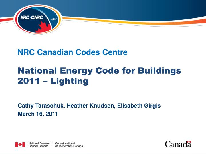 nrc canadian codes centre n.