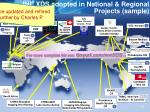 ihe xds adopted in national regional projects sample