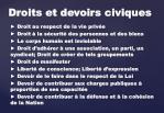 droits et devoirs civiques