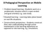 8 pedagogical perspective on mobile learning