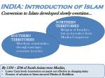 india introduction of islam