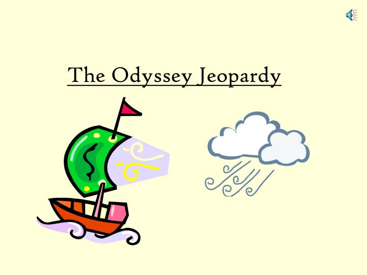 the odyssey jeopardy n.