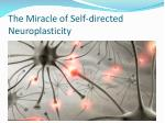 the miracle of self directed neuroplasticity