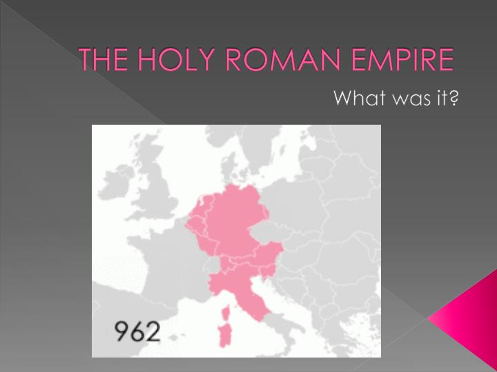 the holy roman empire n.