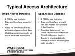 typical access architecture1