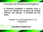 conceito de efici ncia energ tica