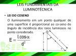 leis fundamentais da luminot cnica1