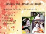 maiko dancing child