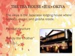 the tea house okiya