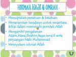 hikmah haji umrah