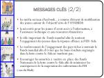 messages cl s 2 2