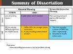 summay of dissertation