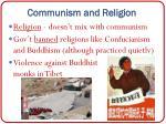 communism and religion