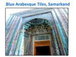 blue arabesque tiles samarkand