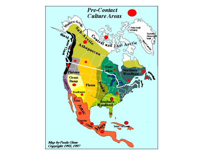 Ppt Aboriginal Groups Of Canada Pre Contact Powerpoint