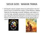 sioux god wakan tanka