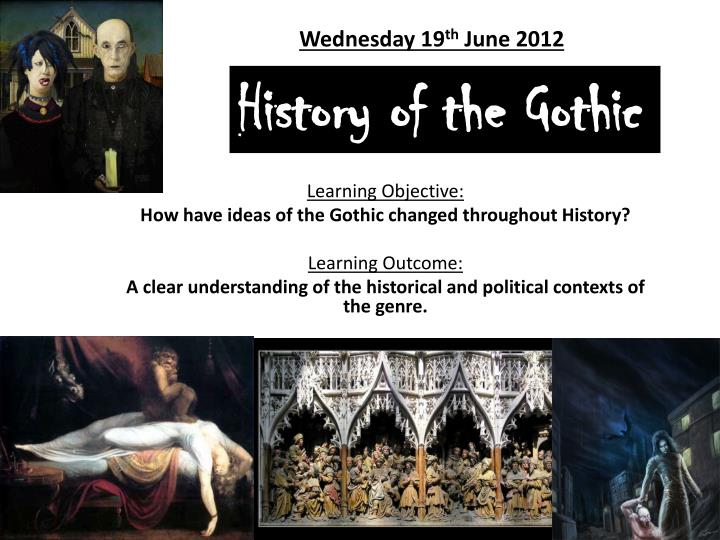 history of the gothic n.