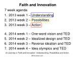 faith and innovation1