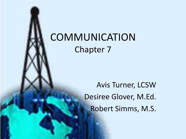communication chapter 7 n.