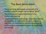 the beat generation1