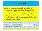 tab home
