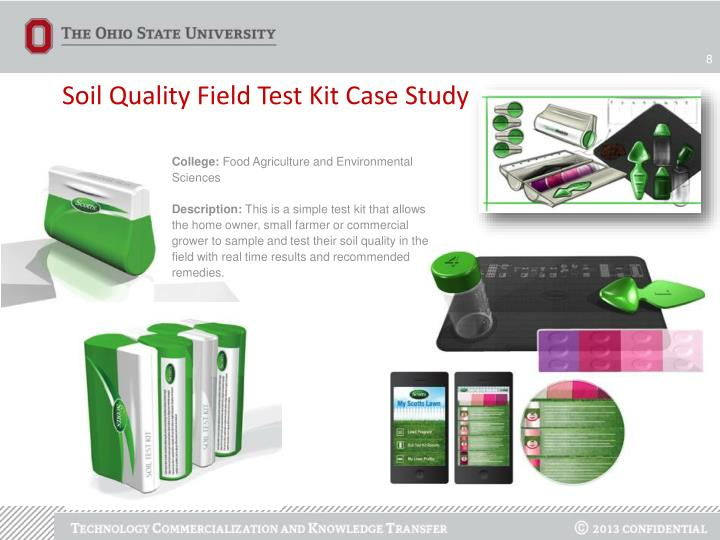 Soil Quality Field Test Kit Case Study
