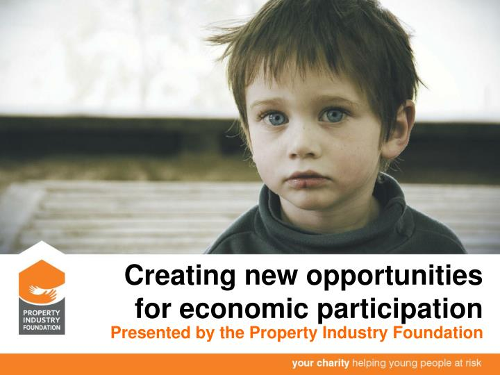 creating new opportunities for economic participation n.