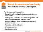 social procurement case study pif s rebuild a young life program1