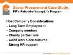 social procurement case study pif s rebuild a young life program2